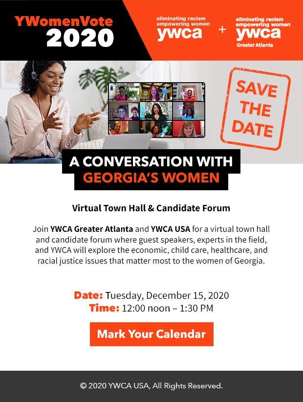 2011118 YWCA Georgia Town Hall Event Email 620px V3