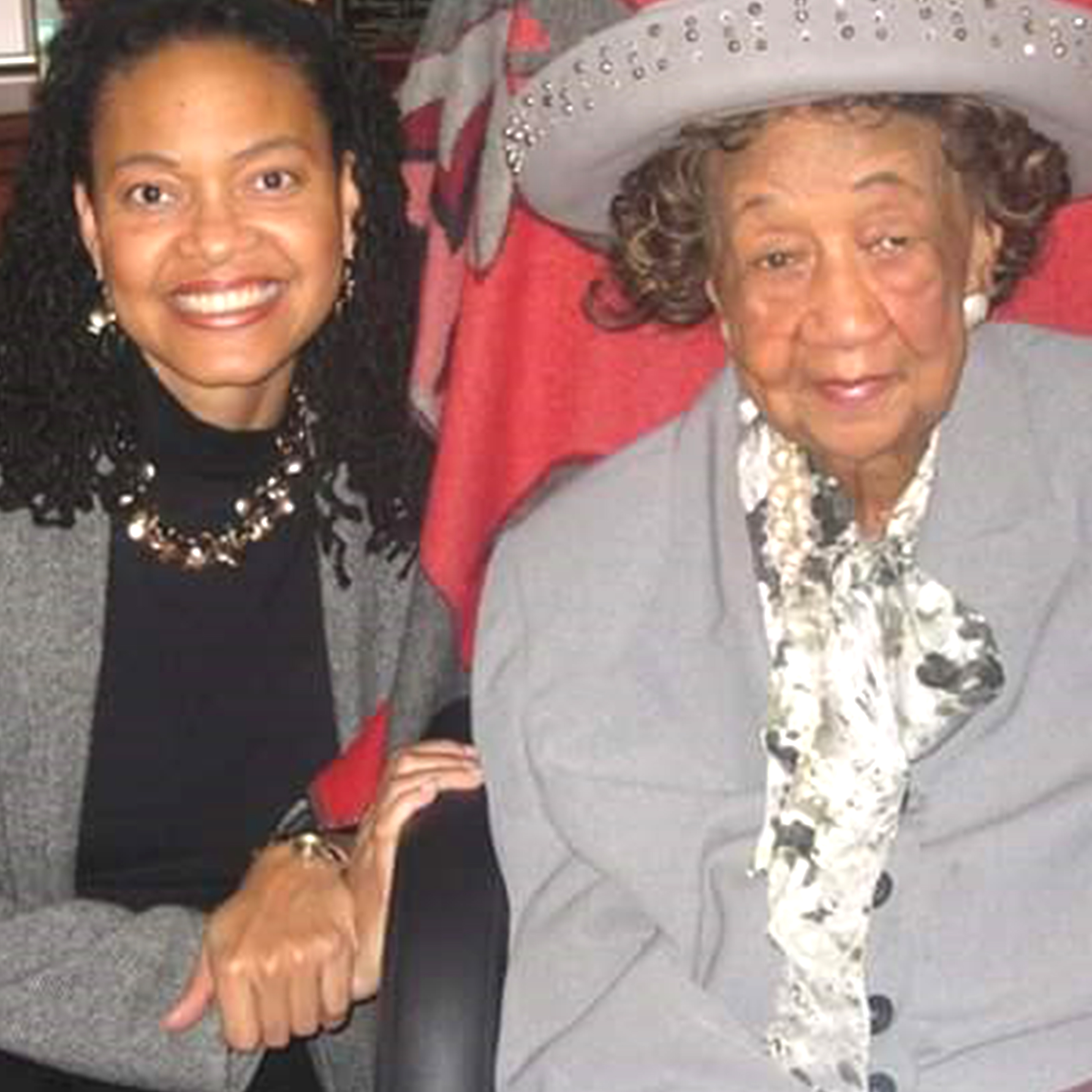 Blanche A. Williams With Dr. Dorothy Height