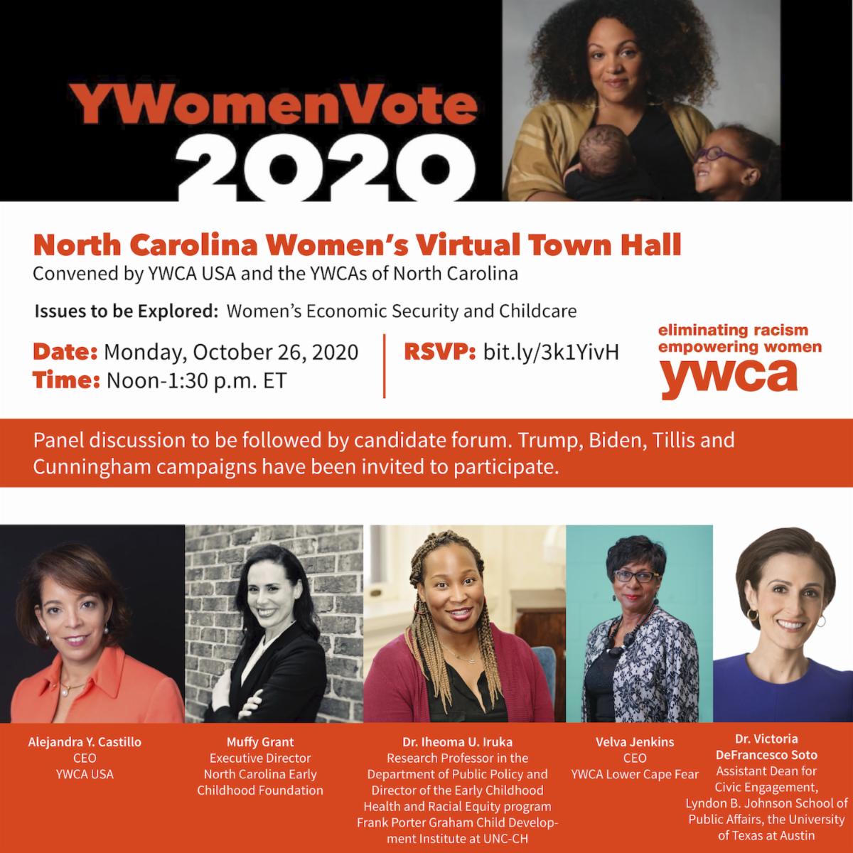 North Carolina Womens Virtual Town Hall