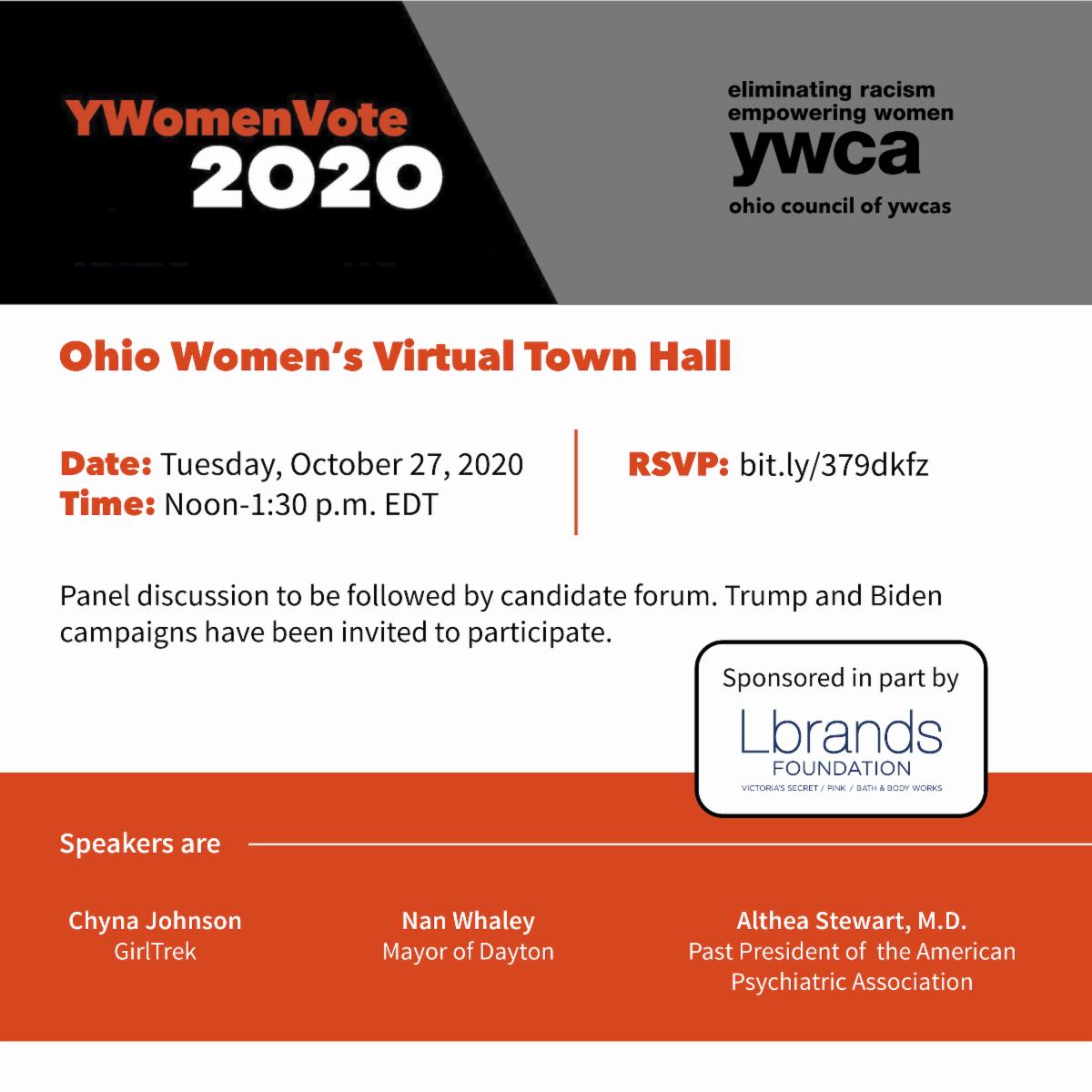 Ohio Womens Virtual Town Hall