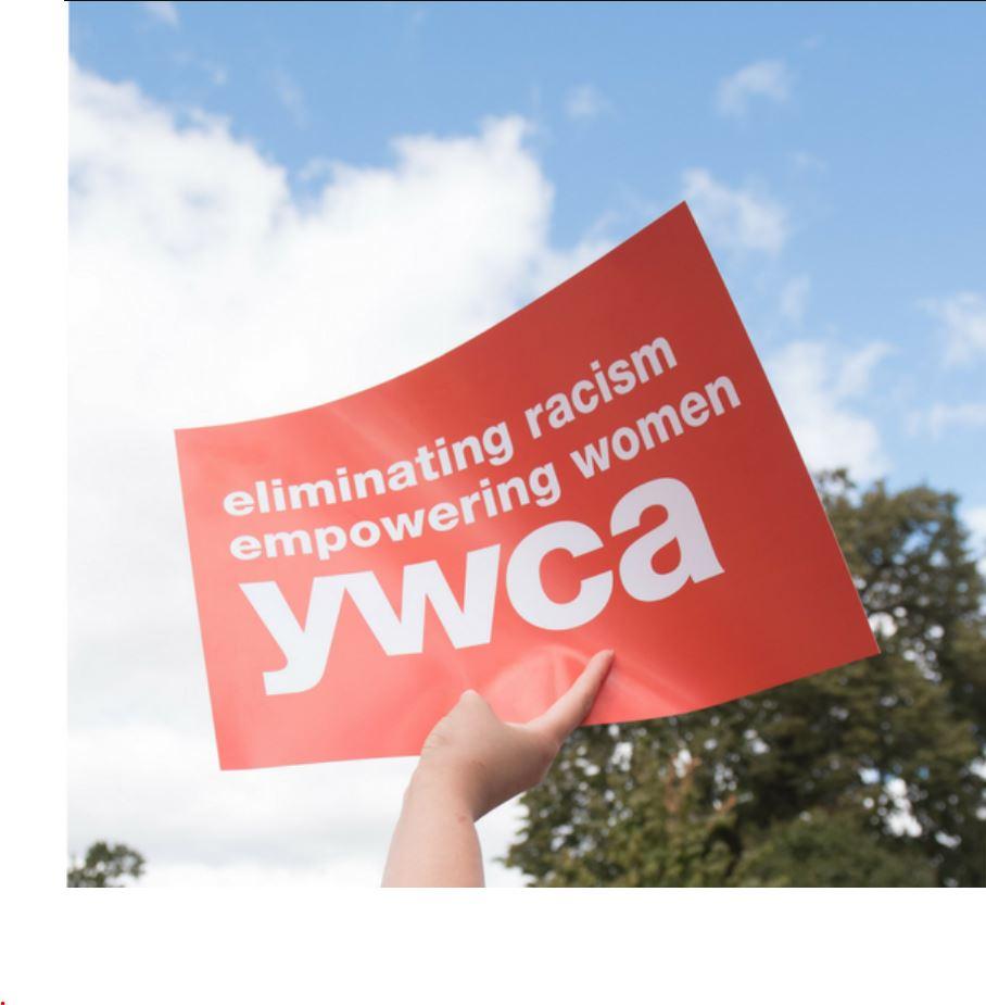 YWCA Placard